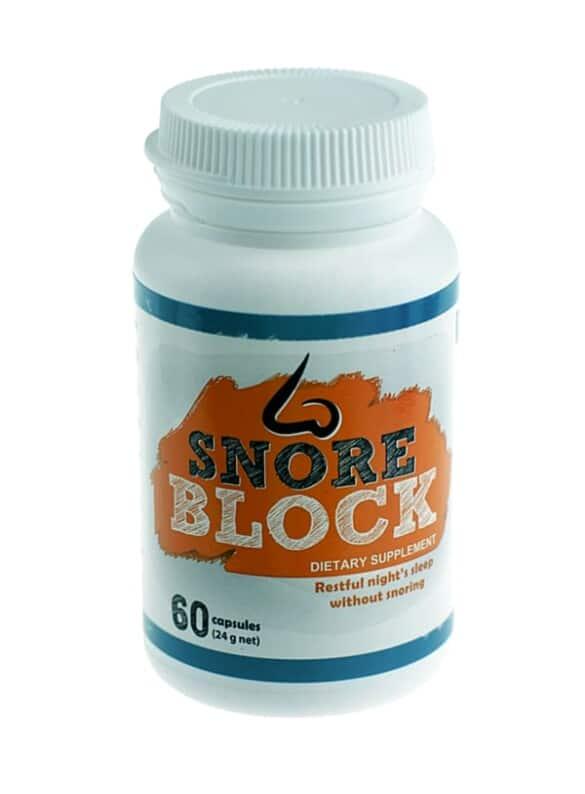 SnoreBlock Čo je to? Vedľajšie účinky